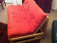 Futon 3 Seater Sofa