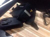3 Topeak saddle bags