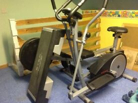 Home gym equipment for sale.