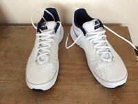 Nike white trainers, boys men's size 8 NEW perfect for school