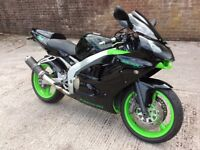 KAWASAKI ZX6R NINJA 2001 LONG MOT K&N LOW MILAGE FOR YEAR