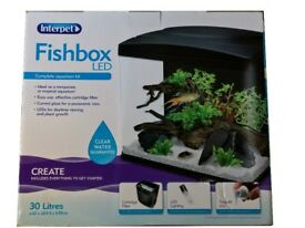 Interpet Fishbox LED 30 Litre BRAND NEW BOXED SEALED With Filter lights Water Treatment