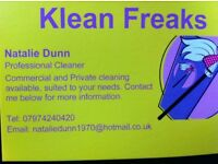 Klean Freaks cleaning service