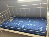 IKEA day bed with mattress