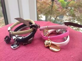 Juicy Couture Hair Bands with Charms