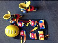 Roller skates equipment for beginners
