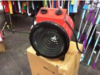 New 5Kw industrial fan heater