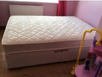 Brand new double bed and mattress never has been used