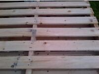 strong wooden sections ideal for fencing, decking, furniture, pallets