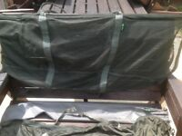 Carp weigh sling and retainer net