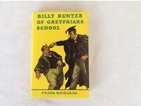 BILLY BUNTER OF GREYFRIARS SCHOOL HARDBACK BOOK