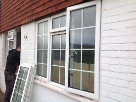 UPVC White Double Glazed Windows (6 units)