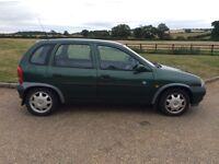 Vauxhall Corsa 5 door long mot