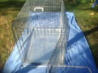 SOLD-Large dog crate