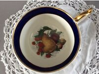 Coronet Bone China Cup and Saucer.