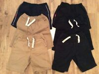 Large bundle of boy shorts age 3-4 year old x6 items in good condition.