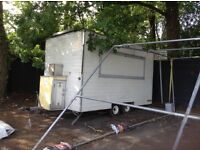 Compact catering trailer -excellent blank canvas for a new business!