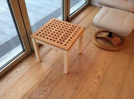 Shabby chic lattice top coffee table
