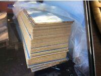 Chipboard t&g flooring coated damp resistant