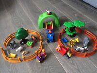 Playmobil 1.2.3 Series. Zoo