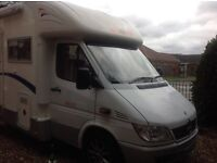 Mercedes Sprinter CI Cipro 55 fixed bed four berth motorhome