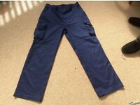 2 PAIRS OF MEN'S WORK TROUSERS