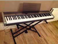 Caseo digital piano, including stand and pedal