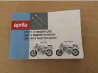 Aprilia maintenance manual