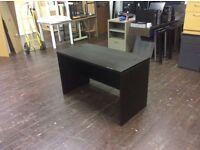 Black Rectangle Desk