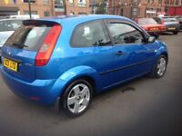 Ford Fiesta zetec climate 1.4 55 plate only 85000 miles PSH (6 stamps) MOT ONE YEAR. 1 lady owner