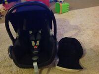 Baby car seat maxi cosi CabrioFix black