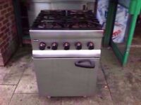 FASTFOOD 6 BURNER COMMERCIAL COOKER MACHINE + OVEN CATERING TAKEAWAY SHOP RESTAURANT DINER PUB CAFE