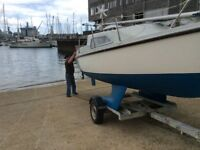 Prelude 19 sailing boat