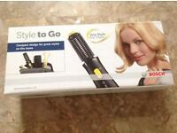BOSCH STYLE TO GO HAIR STYLING BRUSH