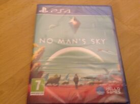 Ps4 NO MAN'S SKY ( new and sealed ) £35 Ono
