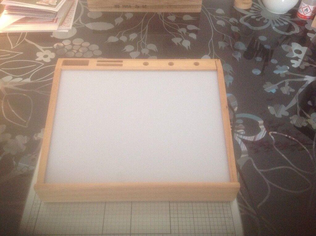 Craft light box for sale in Denton