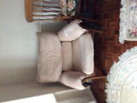 G Plan Karina 3 piece suite in teak frame