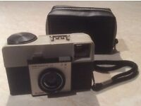 Kodak Instamatic 25 Camera incl. case - may be of interest to collectors