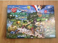 Mike Jupp I Love The Country 1000 Piece Jigsaw in unopened box