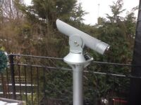 Manufacturer restored seaside telescope very good condition,powerful distance