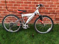 Bike . Halfords Apollo Bike. 21, Speed Gears