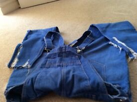 River Island size 10 dungarees