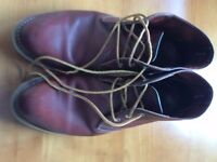 Mens Red Wing Chukka Brown Boots 3141 UK 9 EU 43 Excellent Used Condition RRP £200
