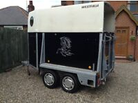 Horse Trailer Westfalia German made quality two horse trailer