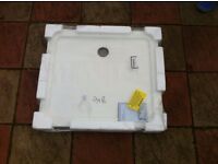 Rectangular Stone Resin Shower Tray 900mm x 800mm x 40 mm