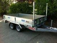 Dale Kane flatbed trailer builders trailer twin axle
