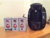Bosch Tassimo machine with coffee pods