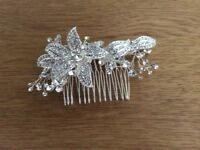 Diamanté hair slide