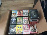 240 DVDs and 8 box sets