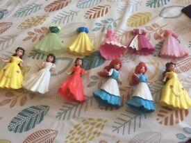Miniature princess dolls